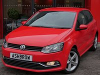 USED 2014 64 VOLKSWAGEN POLO 1.4 TDI SEL BLUEMOTION 5d 90 S/S FRONT & REAR PARK PILOT WITH DISPLAY, CRUISE CONTROL, BLUETOOTH PHONE & MUSIC STREAMING, DAB RADIO, AUX & USB INPUTS, LEATHER FLAT BOTTOM MULTIFUNCTION STEERING WHEEL, FRONT CENTRE ARM REST, 16 INCH 5 SPOKE ALLOY WHEELS, AIR CONDITIONING, TRIP COMPUTER, CD HIFI WITH SD CARD READER, £0 ROAD TAX (88 G/KM), FULL SERVICE HISTORY