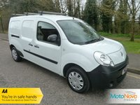 USED 2013 13 RENAULT KANGOO MAXI 1.5 LL21 CORE DCI 1d 90 BHP LWB, ONE OWNER Very Clean One Owner Long Wheelbase Renault Kangoo Van with Electric Windows, Side Loading Door and Service History