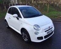 2015 FIAT 500 1.2 S 3d 69 BHP £6990.00
