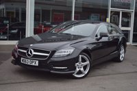 USED 2013 63 MERCEDES-BENZ CLS CLASS 2.1 CLS250 CDI BLUEEFFICIENCY AMG SPORT SHOOTING BRAKE 5d AUTO 202 BHP