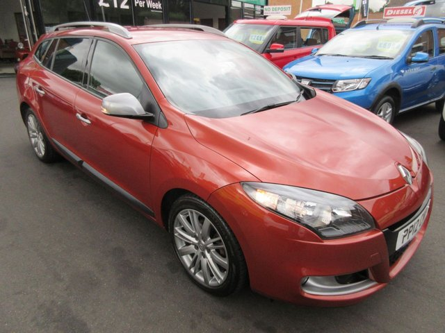 USED 2012 12 RENAULT MEGANE 1.5 GT LINE TOMTOM DCI ECO 5d 110 BHP ***FINANCE AVAILABLE...TEST DRIVE TODAY***