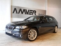 USED 2014 64 BMW 5 SERIES 2.0 520D LUXURY TOURING 5d AUTO 188 BHP