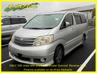 USED 2003 52 TOYOTA ALPHARD Alphard 3.0 MS Auto, 8 Seats, Only 33480 Miles with BIMTA certificate +ONLY 33k+TWIN SUNROOFS+