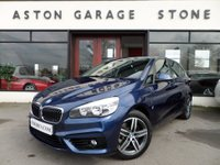 USED 2017 66 BMW 2 SERIES 1.5 225XE PHEV SPORT ACTIVE TOURER 5d AUTO 134 BHP ** SAT NAV * ONE OWNER **