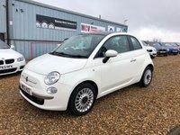 2012 FIAT 500 1.2 LOUNGE 3d 69 BHP £5490.00