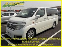 USED 2003 52 NISSAN ELGRAND  Highway Star 3.5 Automatic, 4WD,8 Seats,Only 62k,RADAR CRUISE CONTROL,Twin Sunroof 62K+4WD+RADAR CRUISE+SUNROOF+BOSE
