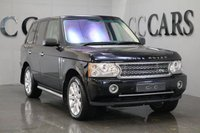 USED 2006 06 LAND ROVER RANGE ROVER VOGUE 4.2 V8 SUPERCHARGED 5d AUTO 391 BHP FULL IVORY / DARK BLUE LEATHER HEATED ELECTRIC MEMORY SEATS+HEATED REAR SEATS, SATELLITE NAVIGATION, 20 INCH SUPERCHARGED ALLOY WHEELS, TWIN FACTORY REAR ENTERTAINMENT TO HEADREST+WIRELESS HEADPHONES, HARMON KARDON LOGIC 7 PREMIUM SOUND, FRONT+REAR PARK DISTANCE CONTROL+REVERSE CAMERA, AUTOMATIC BI-XENON HEADLIGHTS+POWER WASH, HEATED LEATHER MULTI FUNCTION STEERING WHEEL, HEATED ELECTRIC POWERFOLD MIRRORS, LAND ROVER SIDE TUBES, ELECTRIC SUNROOF, DUAL ZONE CLIMATE CONTROL, PRIVACY GLASS