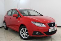 USED 2009 59 SEAT IBIZA 1.4 SE 5DR 85 BHP AIR CONDITIONING + AUXILIARY PORT + RADIO/CD + ELECTRIC WINDOWS + 15 INCH ALLOY WHEELS