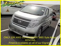 2003 NISSAN ELGRAND NISSAN ELGRAND Highway Star 3.5 Automatic, 4 Wheel Drive, 8 Seats,Only 32K Miles.Sunroof,BOSE. £6750.00