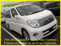 USED 2005 54 NISSAN ELGRAND  Highway Star 3.5 Automatic, 4WD,8 Seats,Only 74k.Facelift.Front and Rear Camera +74K+4WD+FRONT/REAR CAMERA+