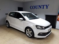 2013 VOLKSWAGEN POLO 1.2 R-LINE STYLE 5d 60 BHP £6995.00