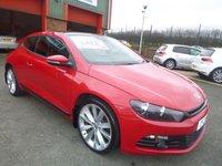 2010 VOLKSWAGEN SCIROCCO 2.0 GT DSG 3d AUTO 211 BHP £7950.00