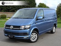 USED 2017 67 VOLKSWAGEN TRANSPORTER 2.0 T28 TDI P/V HIGHLINE BMT 1d AUTO 147 BHP AUTOMATIC LOW MILEAGE
