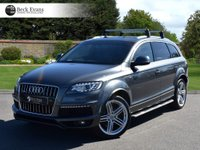 USED 2014 14 AUDI Q7 3.0 TDI QUATTRO S LINE PLUS 5d AUTO 245 BHP FULL LEATHER REAR CAMERA