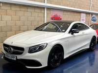 USED 2014 64 MERCEDES-BENZ S CLASS 5.5 S63 AMG Coupe 2dr Petrol Automatic (s/s) (237 g/km, 577 bhp) +FULL SERVICE+WARRANTY+FINANCE