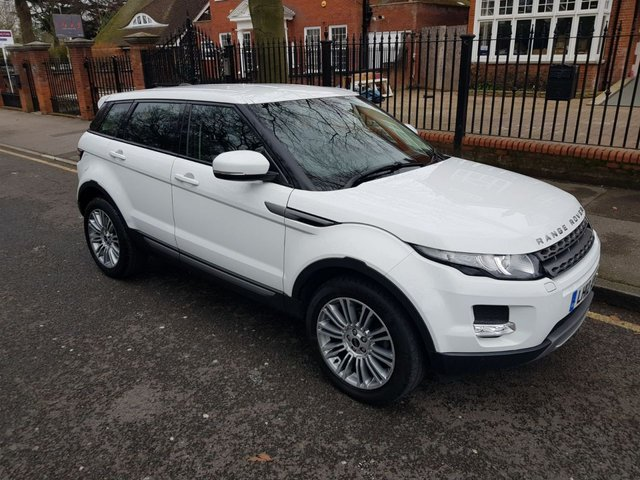 2012 12 LAND ROVER RANGE ROVER EVOQUE 2.2 SD4 PURE TECH 5d AUTO 190 BHP