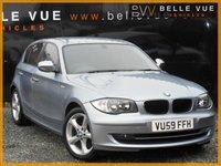 2009 BMW 1 SERIES 2.0 118D SPORT 5d 141 BHP £5495.00
