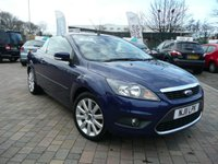 2011 FORD FOCUS 2.0 CC3 2d 144 BHP £SOLD