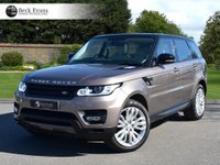 USED 2017 LAND ROVER RANGE ROVER SPORT 3.0 SDV6 HSE DYNAMIC 5d AUTO 306 BHP 7 SEATER 2017 MODEL YEAR 7 SEATER 2017 MODEL