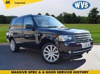 USED 2009 59 LAND ROVER RANGE ROVER 3.6 TDV8 AUTOBIOGRAPHY 5d 271 BHP Finished in a very dark brown (nearly black) metallic with a cream full leather interior and in superb condition both inside and out for its age and mileage. Complete with an independent AA inspection report. 6 service stamps and 2 keys.