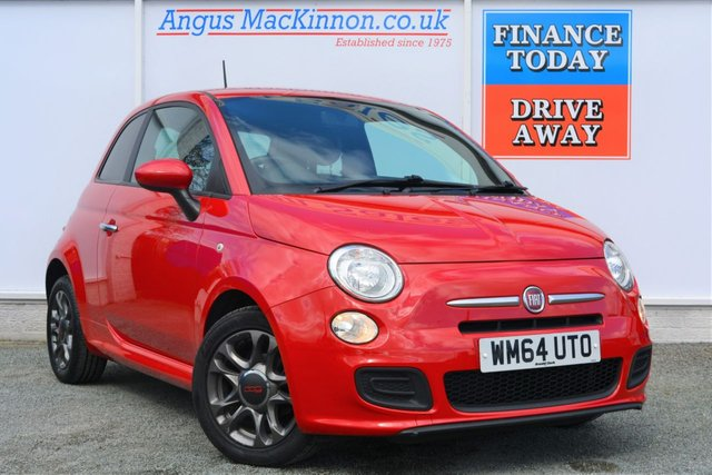 2014 64 FIAT 500 1.2 S 3d Hatchback Ideal 1st Car Looks Great in Red