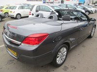 2009 VAUXHALL ASTRA 1.8 CONVERTIBLE TWIN TOP SPORT 3d 140 BHP £3495.00