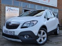USED 2015 65 VAUXHALL MOKKA 1.6 EXCLUSIV S/S 5d 114 BHP ONE ONWER FROM NEW WITH FULL VAUXHALL SERVICE HISTORY