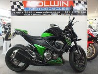 USED 2013 13 KAWASAKI Z800 806cc ZR 800 ADS  EXCELLENT CONDITION!!!