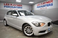 2013 BMW 1 SERIES 1.6 116D EFFICIENTDYNAMICS 5d 114 BHP £7999.00