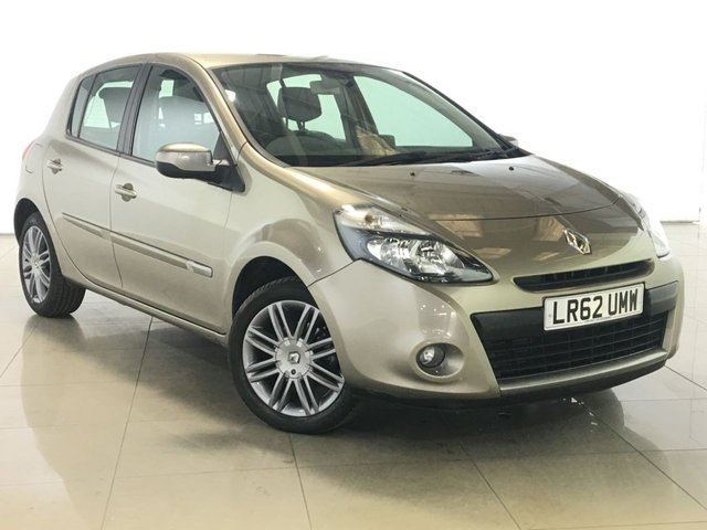 View our 2012 62 RENAULT CLIO 1.1 DYNAMIQUE TOMTOM TCE 5d 100 BHP