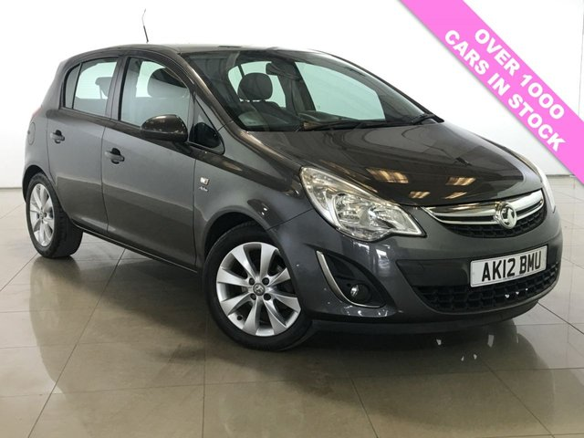 View our 2012 12 VAUXHALL CORSA 1.2 ACTIVE AC 5d 83 BHP