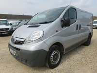 2013 VAUXHALL VIVARO 2.0 2900 CDTI SWB ECOFLEX 115 BHP WITH TAILGATE AND AIR CON £6995.00