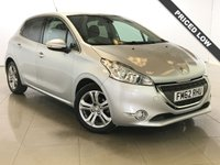 USED 2013 62 PEUGEOT 208 1.4 ALLURE HDI 5d 68 BHP Bluetooth/Air Con