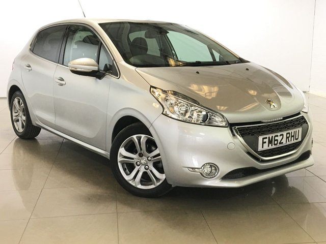 View our 2013 62 PEUGEOT 208 1.4 ALLURE HDI 5d 68 BHP