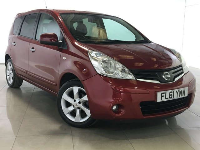 View our 2011 61 NISSAN NOTE 1.6 TEKNA 5d AUTO 110 BHP