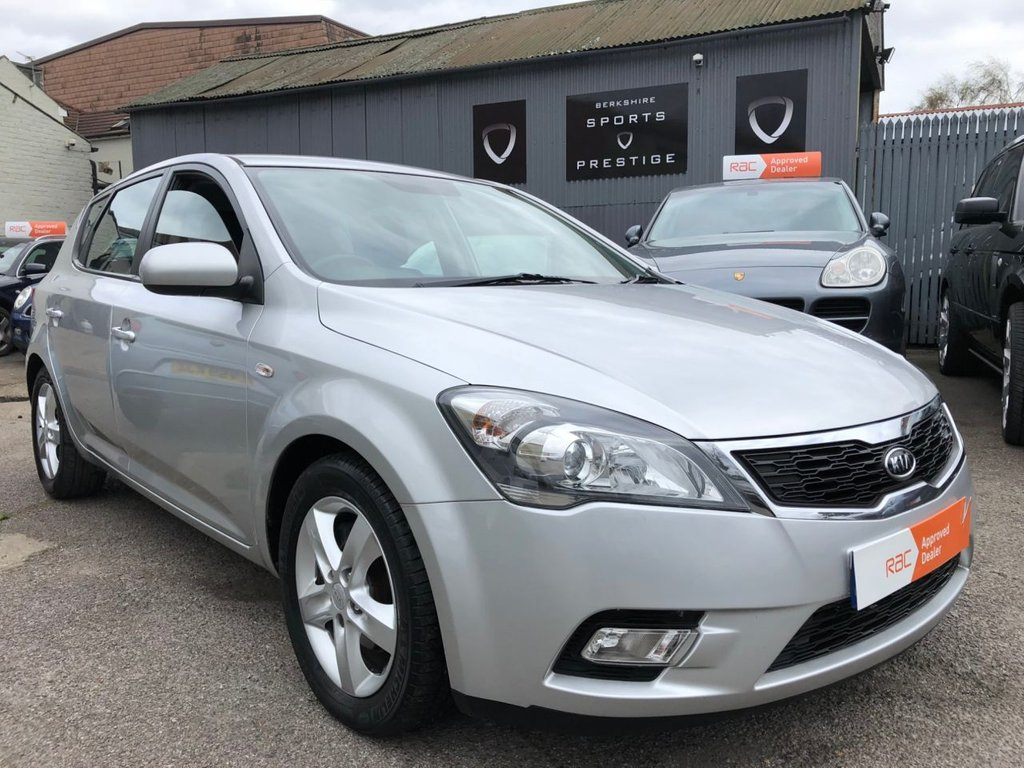 USED 2010 10 KIA CEED 1.6 2 5d 125 BHP FULL SERVICE HISTORY - AIR  CONDITIONING ...