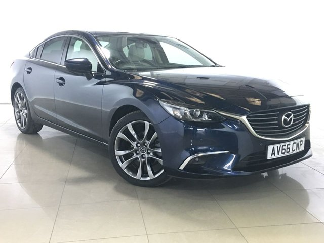 View our 2016 66 MAZDA 6 2.2 D SPORT NAV 4d 148 BHP