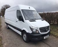 2014 MERCEDES-BENZ SPRINTER 313 CDI LWB £10495.00