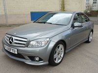 2010 MERCEDES-BENZ C CLASS 2.1 C220 CDI BLUEEFFICIENCY SPORT 4d AUTO 170 BHP £8500.00