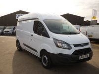 2015 FORD TRANSIT CUSTOM 2.2 290  L2H2 100 PS DAB RADIO ELECTRIC WINDOWS AND MUCH MORE  £12995.00