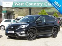 USED 2016 16 HONDA CR-V 2.0 I-VTEC BLACK EDITION 5d AUTO 153 BHP Only 1 Owner From New With Very Low Mileage