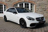 2015 MERCEDES-BENZ E CLASS 5.5 AMG E 63 4d AUTO E63 £36950.00
