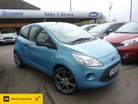 USED 2009 09 FORD KA 1.2 STUDIO 3d 69 BHP
