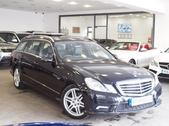 2011 MERCEDES-BENZ E CLASS 2.1 E250 CDI BLUEEFFICIENCY SPORT ED125 5d AUTO 204 BHP £11990.00
