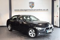 USED 2012 12 BMW 3 SERIES 2.0 320D EFFICIENTDYNAMICS 4DR 161 BHP + FULL SERVICE HISTORY + BLUETOOTH + CRUISE CONTROL + RAIN SENSORS + AUTO AIR CONDITIONING + PARKING SENSORS + 16 INCH ALLOY WHEELS +