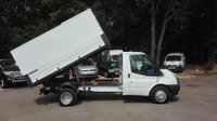 USED 2014 14 FORD TRANSIT 2.2 350 DRW TIPPER - TREE SURGEON Specialist Tree Surgeons Tipper Body