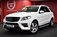 USED 2012 12 MERCEDES-BENZ M CLASS 3.0 ML350 BLUETEC SPORT 5d AUTO 258 BHP