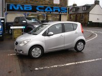 USED 2009 59 VAUXHALL AGILA 1.0 CLUB 5d 65 BHP ONLY 29000 MILES FROM NEW, £30 A YEAR ROAD TAX