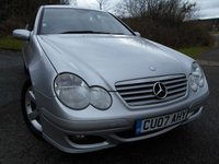 USED 2007 07 MERCEDES-BENZ C-CLASS 2.1 C200 CDI SE SPORTS 3d AUTO 121 BHP ** AUTOMATIC ** DIESEL**LOVELY CONDITION**