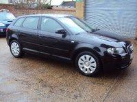 2005 AUDI A3 1.6 8V 5d AUTO 101 BHP £2899.00